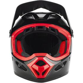 Bell Transfer-9 Fullface Helm black/hibiscus